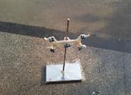 实验室铁架台不锈钢滴定台滴定架
