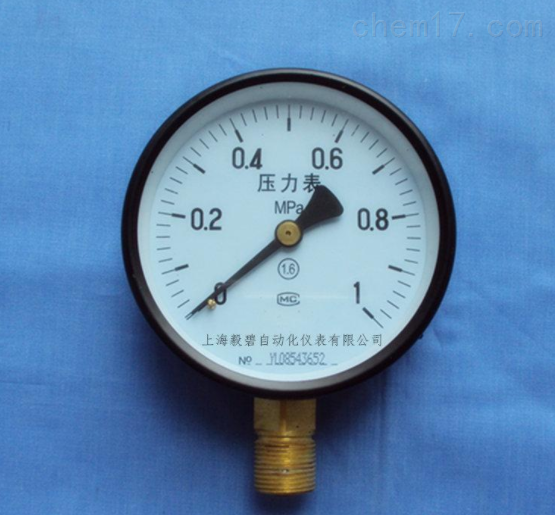 Y-40Q普通压力表