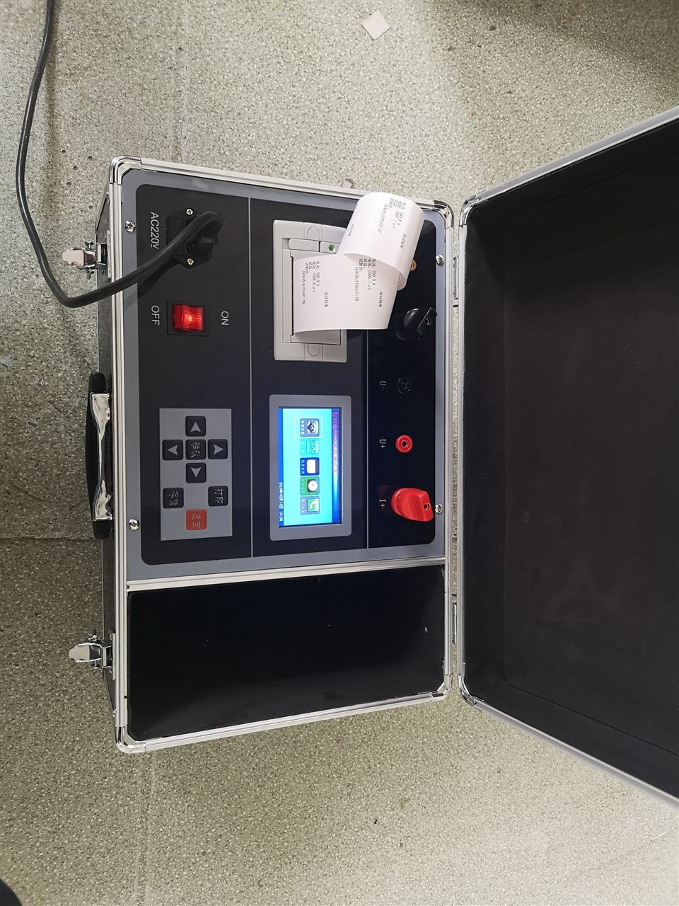 供应智能开关回路接触电阻测试仪