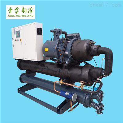 QX-180W真空镀膜循环冷却大型水冷式螺杆冷水机