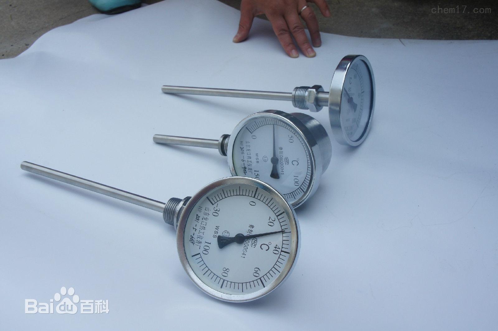 双金属温度计参数