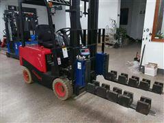 浦东1吨轮式叉车称改装厂家 整改燃油叉车秤