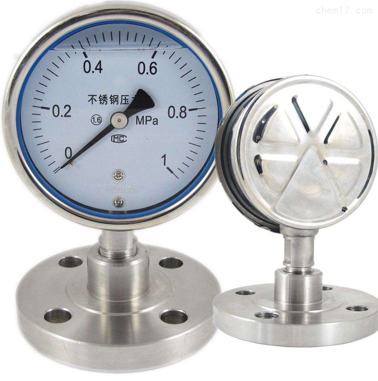 YPF -150膜片压力表
