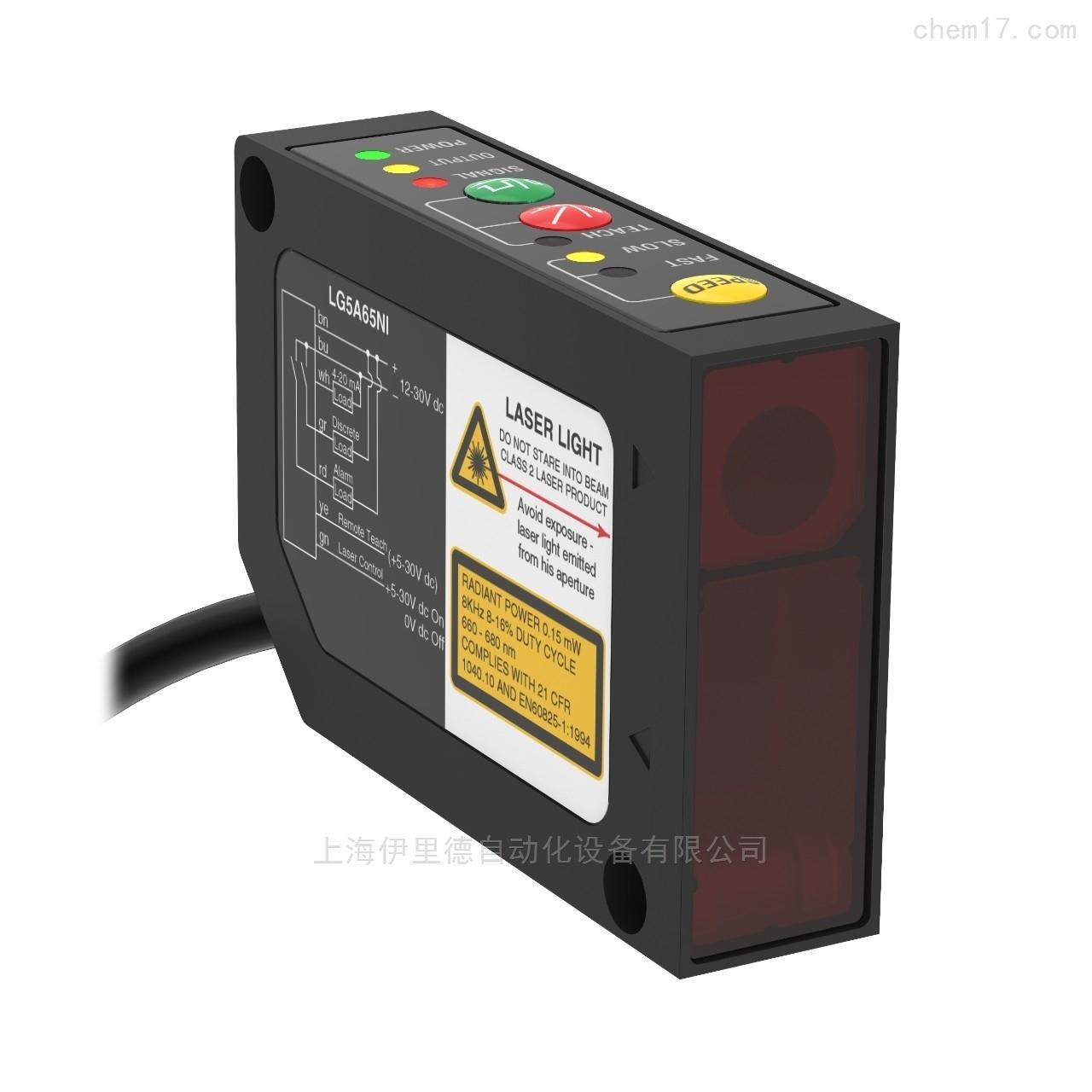 美国邦纳BANNER高精度激光传感器