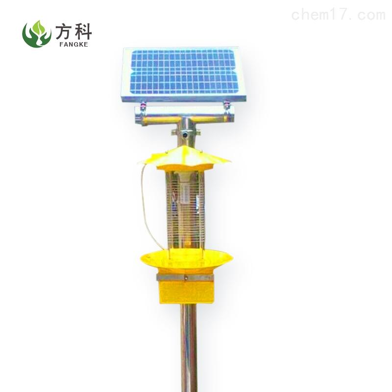 频振式太阳能杀虫灯安装
