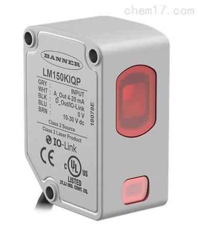 美国邦纳BANNER紧凑型精确激光测量传感器
