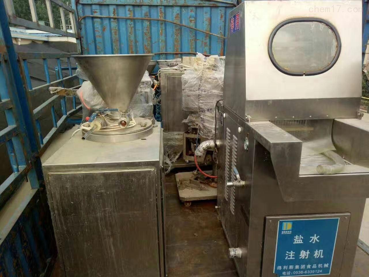 回收二手盐水注射机肉制品加工设备
