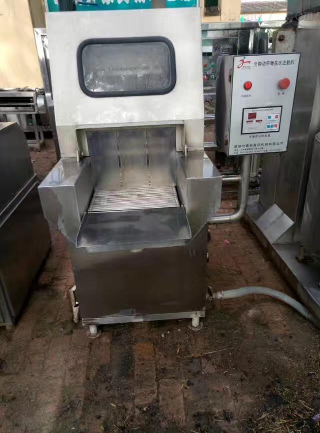 回收二手海鲜盐水注射机肉食品加工设备