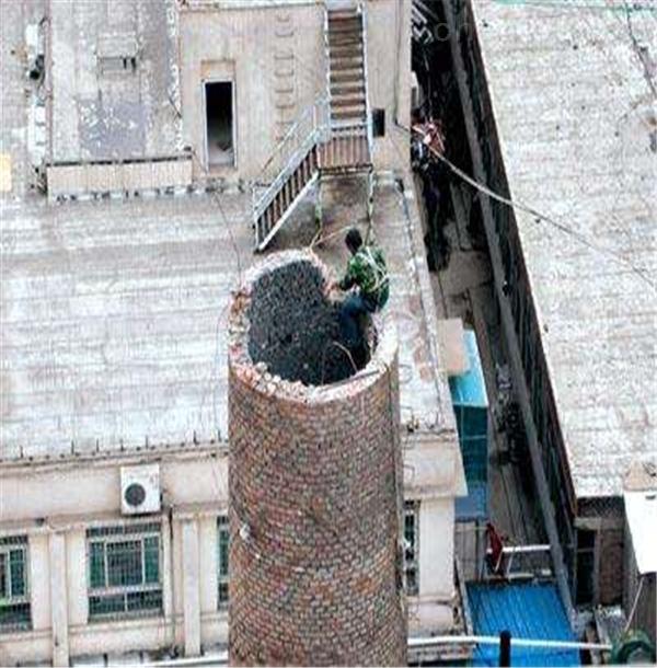 威海市旧烟囱拆除公司方案
