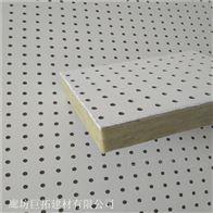 冲孔600硅酸钙复合岩棉吸音板