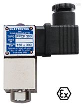 PPCF意大利伊莱科单刀双掷触点可调压力控制器