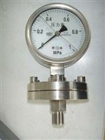 Y-100BFZ/MC卫生型隔膜压力表 上海自动化