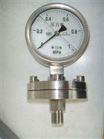 Y-100BFZ/MC卫生型隔膜压力表