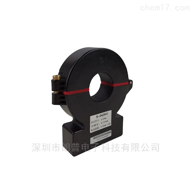 广州钐钇防水型开合式高精度漏电流传感器