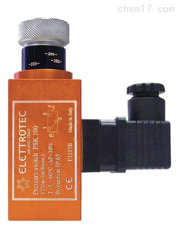 意大利ELETTROCE带刻度旋钮可调压力控制器