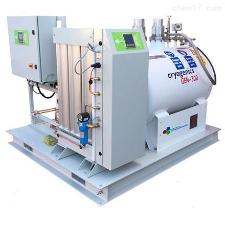 130升每天英国进口生物样本库液氮生产设备
