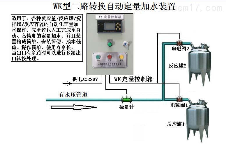 多路出口自動轉換加水設備