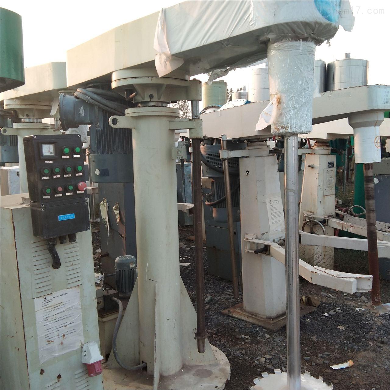 长期回收11千瓦高速分散机