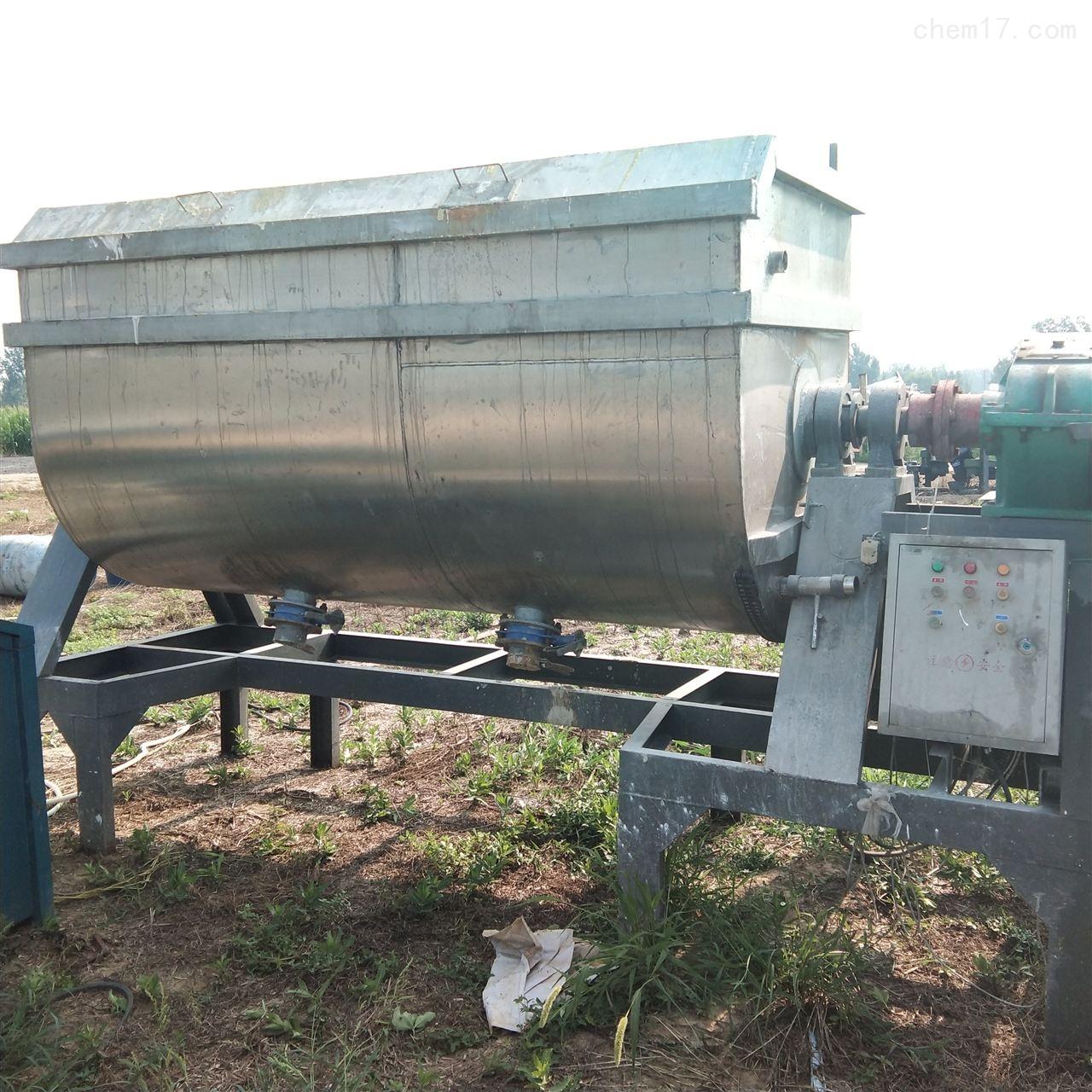 高价回收5吨不锈钢混合机