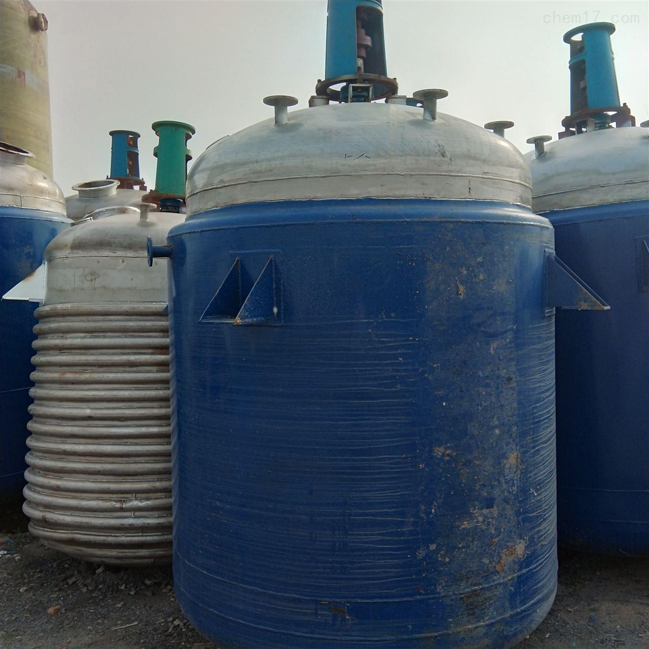 大量回收6300升电加热反应釜