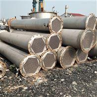 100平方大量回收二手不锈钢列管冷凝器