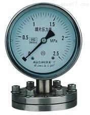 YPF-100膜片压力表