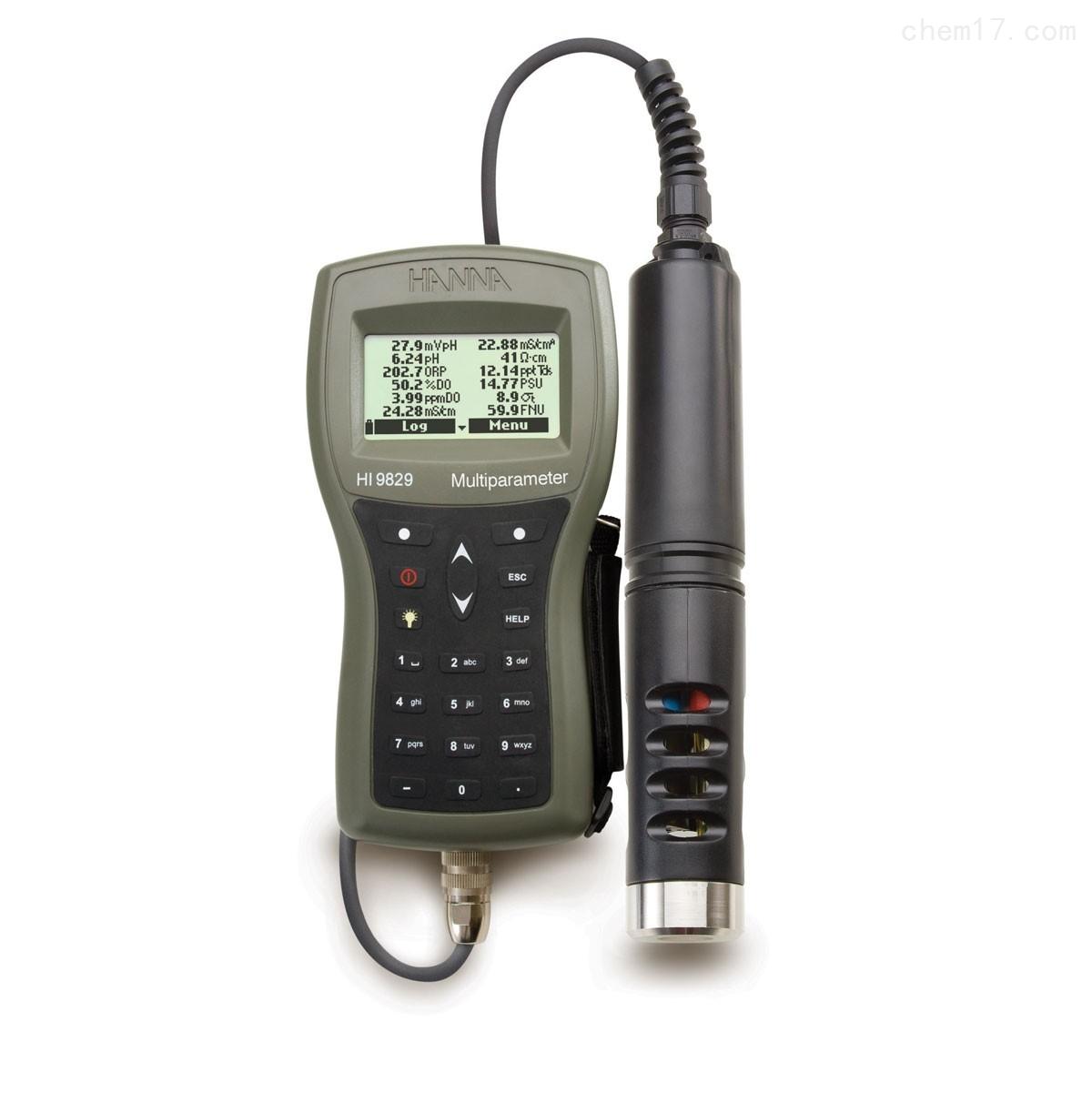 HI9829T 高精度多参数16项水质分析测定仪