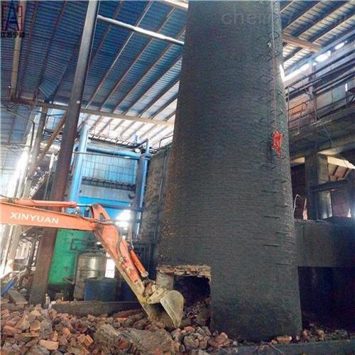 昆明市烟囱拆除烟筒新建施工工程