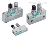 SCD小型双向流量控制喜开理CKD调速阀