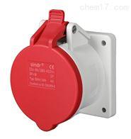32A4芯/SIN1399防水工业插座380v