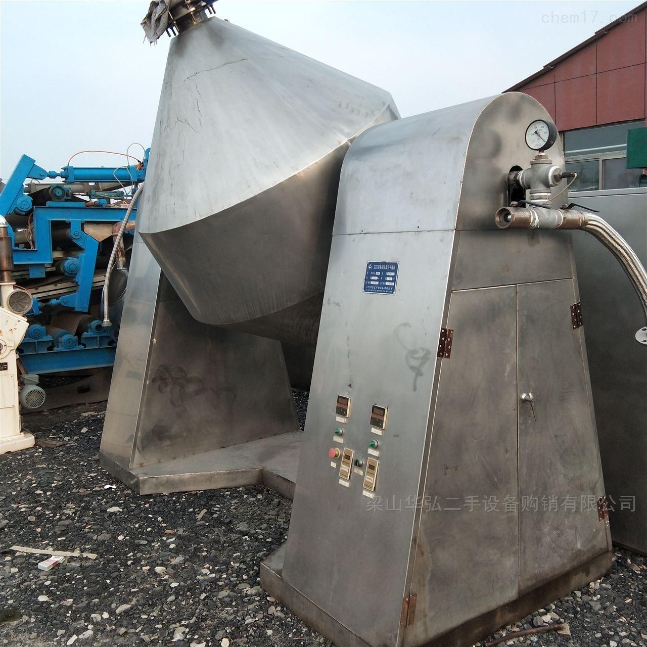 高价回收不锈钢双锥回转干燥机