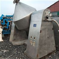 1500升干燥机高价回收不锈钢双锥回转干燥机