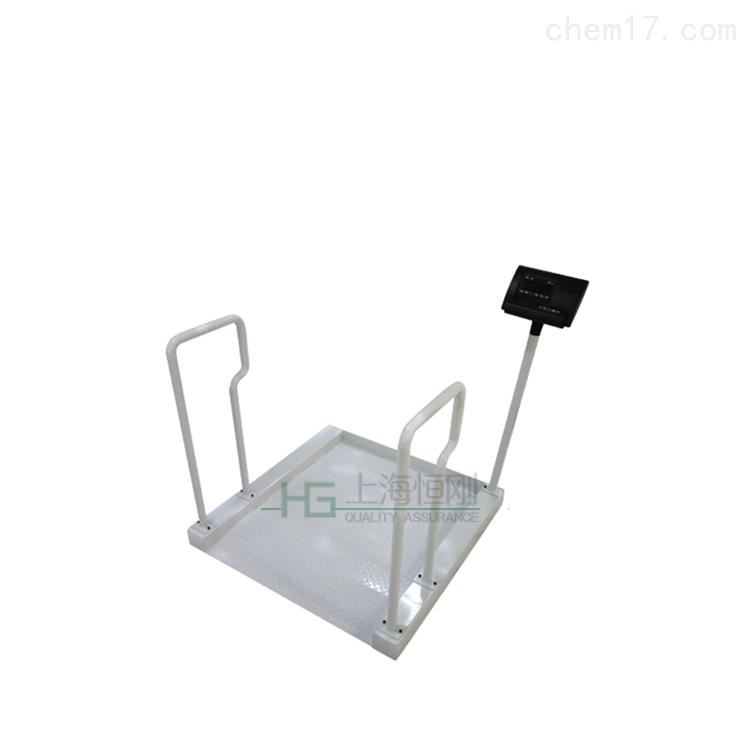 防鏽不鏽鋼醫院輪椅秤,醫療血透輪椅電子秤