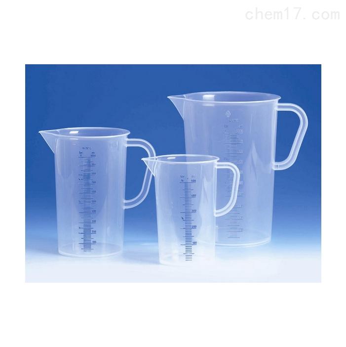 德国VITLAB PP材质带柄烧杯(蓝色刻线)