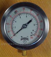 PFH25TBU3B0/100kPaSMWinters文特斯BSP(G)3/8过程接口压力表