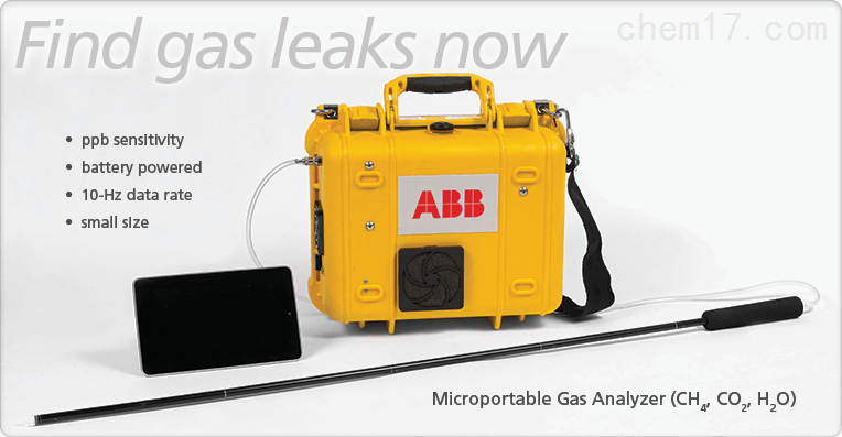 ABB温室气体分析仪4,一氧化碳2)-微便携式