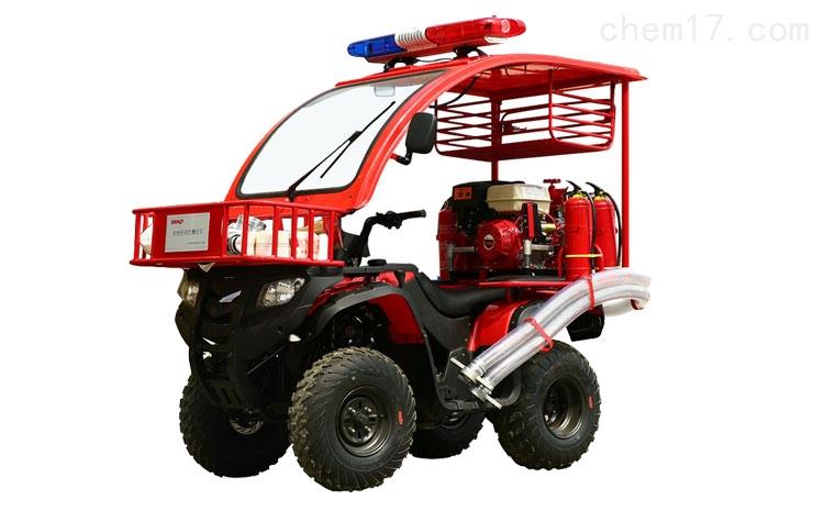 四轮消防摩托车配置