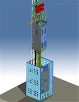 大丰市热博体育网升降机烟筒升降梯安装公司