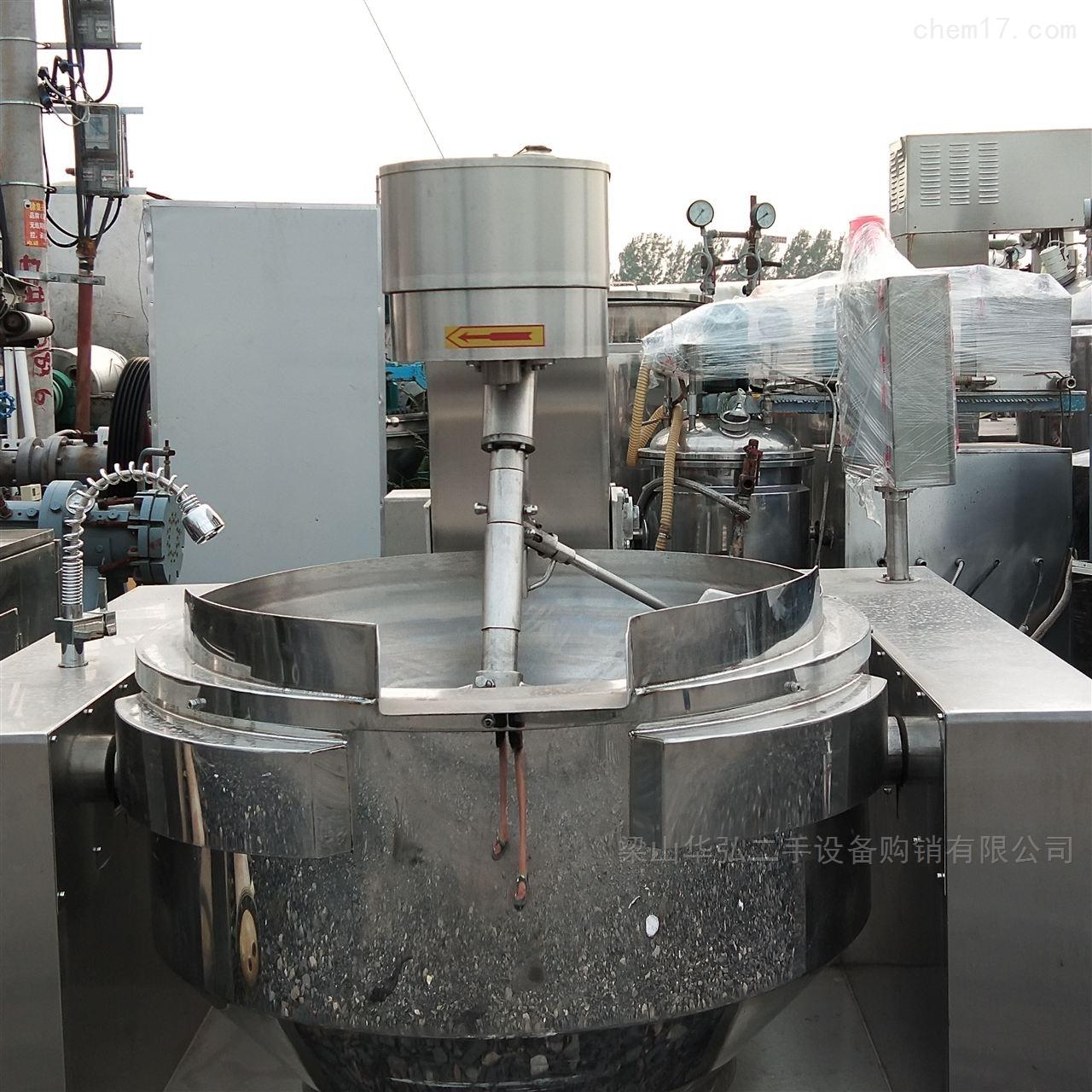 大量回收二手电加热夹层锅