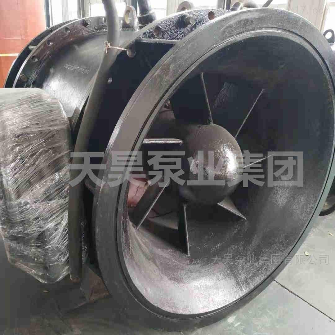 广州排灌站用700QGWZ全贯流潜水电泵价格