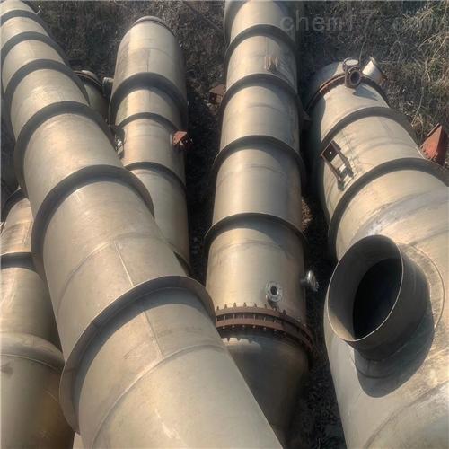 出售二手四效30吨钛材降膜蒸发器