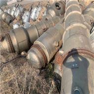 出售二手钛材质蒸发器