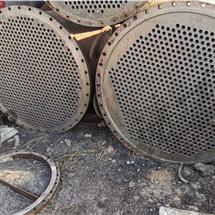 钛材质二手列管冷凝器