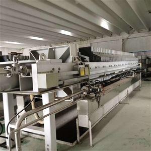湖北出售二手120平方厢式压滤机