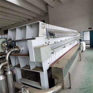 福建出售二手500平方厢式洗煤压滤机
