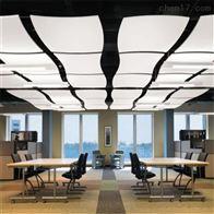 PC岩棉玻纤吸音板天花防潮板