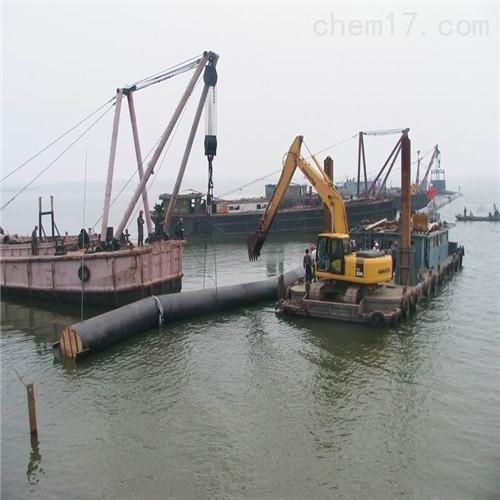 威海市取排水管道水下安裝公司沉管安裝