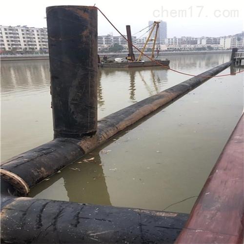 怒江沉管施工公司取排水管道水下安装