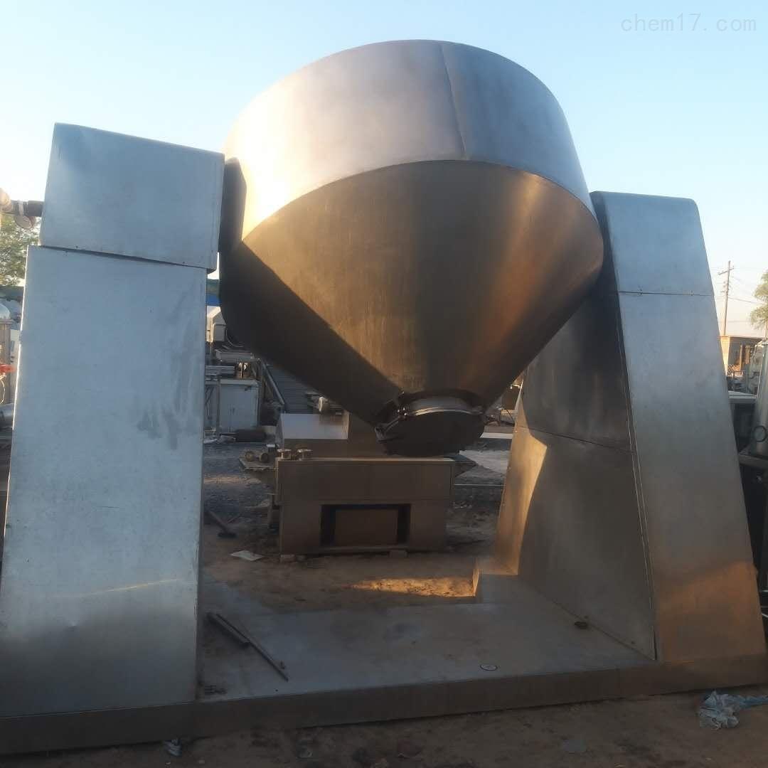 2000L回收磷酸铁锂回转真空干燥机
