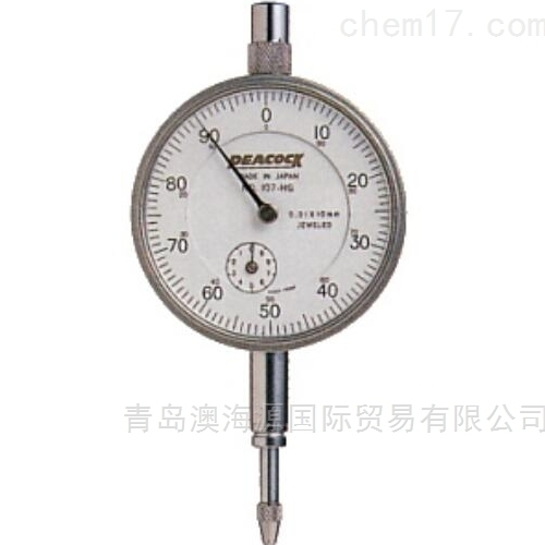 107-HG高精度型千分表日本孔雀PEACOCK